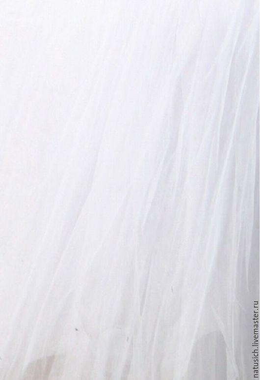 Шитье ручной работы. Ярмарка Мастеров - ручная работа. Купить Фатин (сетка) Белая мягкая. Handmade. Белый, сетка, фатин