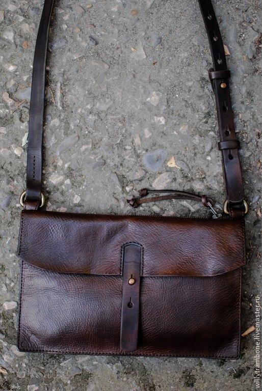 """Женские сумки ручной работы. Ярмарка Мастеров - ручная работа. Купить сумочка  """"гранж"""". Handmade. Небольшая сумка, натуральная кожа"""