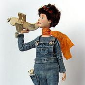 Куклы и игрушки ручной работы. Ярмарка Мастеров - ручная работа Авиатор. Handmade.