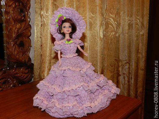Одежда для кукол ручной работы. Ярмарка Мастеров - ручная работа. Купить Серенивые грёзы. Handmade. Сиреневый, подарок для девочки, кукла