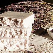 """Косметика ручной работы. Ярмарка Мастеров - ручная работа """"Лавандовая соль"""". Натуральное соляное взбитое мыло. Handmade."""