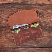 Сумки и аксессуары handmade. Livemaster - original item Women`s wallet made of genuine leather Prague. Handmade.