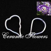 Материалы для творчества handmade. Livemaster - original item A set of Cutters the Petals of Eustoma (Lisianthus), plastic. Handmade.