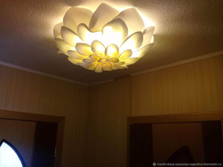 Lamp-Dahlia, Ceiling and pendant lights, Kortkeros,  Фото №1