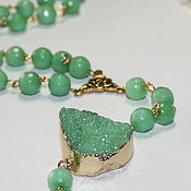 Украшения handmade. Livemaster - original item the long rosary beads