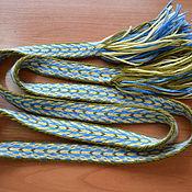 Русский стиль handmade. Livemaster - original item The belt on the plates No. 3. Handmade.
