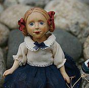 Куклы и игрушки ручной работы. Ярмарка Мастеров - ручная работа Деревянная шарнирная кукла Сонечка. Handmade.