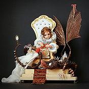 Куклы и игрушки ручной работы. Ярмарка Мастеров - ручная работа Тебе можно всё. Handmade.