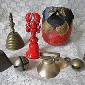 Винтаж ручной работы. Ярмарка Мастеров - ручная работа антикварные колокольчики. Handmade.