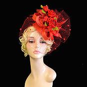 Аксессуары handmade. Livemaster - original item Hat with a veil