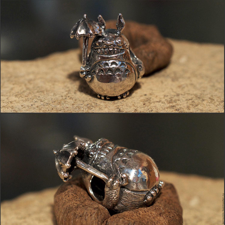 All for Jewelry Making handmade. Livemaster - handmade. Buy Totoro charm.Charm, anime, totoro, artisan, bead, trollbeads