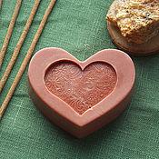 """Мыло ручной работы. Ярмарка Мастеров - ручная работа Мыло """"Сердце"""" с маслом мирры. Handmade."""