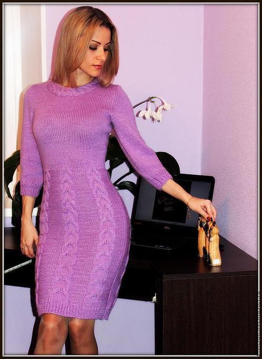 Платья ручной работы. Ярмарка Мастеров - ручная работа. Купить Платье Parfait amour, купить теплое платье, зимнее платье. Handmade.