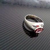 Украшения handmade. Livemaster - original item Men`s ring in 925 silver with tourmaline. Handmade.
