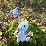 Куклы и игрушки ручной работы. Ярмарка Мастеров - ручная работа Мечтающий зайка. Handmade.
