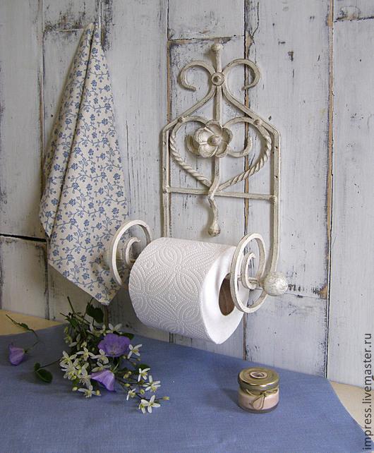 Ванная комната ручной работы. Ярмарка Мастеров - ручная работа. Купить держатель для туалетной бумаги. Handmade. Чёрно-белый, туалет
