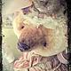 Мишки Тедди ручной работы. Мисс Валери и ее шляпка. Глафурный променад. Ярмарка Мастеров. Платье из батиста, батист