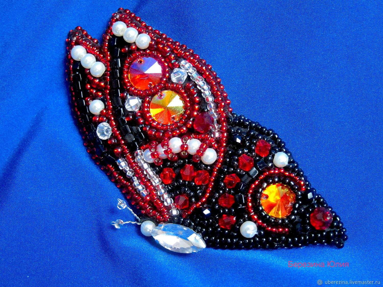 Брошь бабочка, Брошь-булавка, Санкт-Петербург,  Фото №1