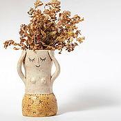 Для дома и интерьера handmade. Livemaster - original item Ceramic vase. Handmade.