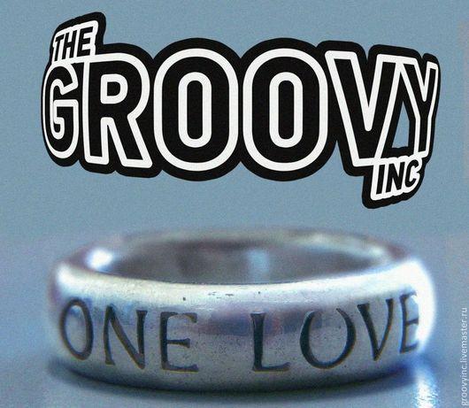 Кольца ручной работы. Ярмарка Мастеров - ручная работа. Купить Кольцо «One Love» the Prodigy из серебра. Handmade.