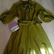 Одежда ручной работы. Ярмарка Мастеров - ручная работа Лето - время платьев из шелкового шифона. Handmade.