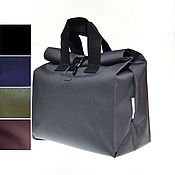 Сумки и аксессуары handmade. Livemaster - original item Food bag, size XL, grey, black, blue, khaki. Handmade.