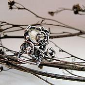 """Украшения ручной работы. Ярмарка Мастеров - ручная работа кольцо с сапфиром """"Sunny Lotus"""" silver. Handmade."""