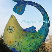 """Сумки и аксессуары ручной работы. Ярмарка Мастеров - ручная работа Сумка """"Волшебная рыбка"""". Handmade."""