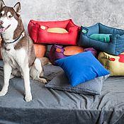Лежанки ручной работы. Ярмарка Мастеров - ручная работа Лежанка для собак 90х60см. Handmade.
