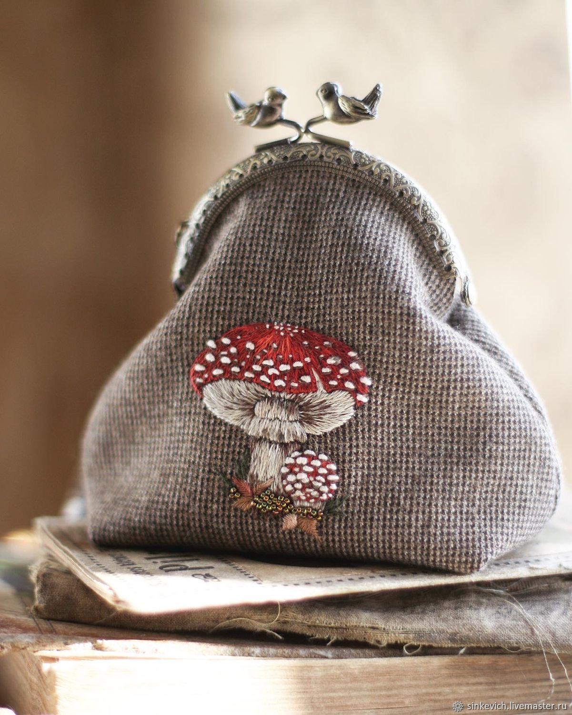 Кошелёк с вышивкой, Кошельки, Киев,  Фото №1