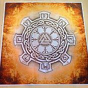 Фен-шуй и эзотерика handmade. Livemaster - original item Will WALKNUT, Egishyants rune cloth. Handmade.