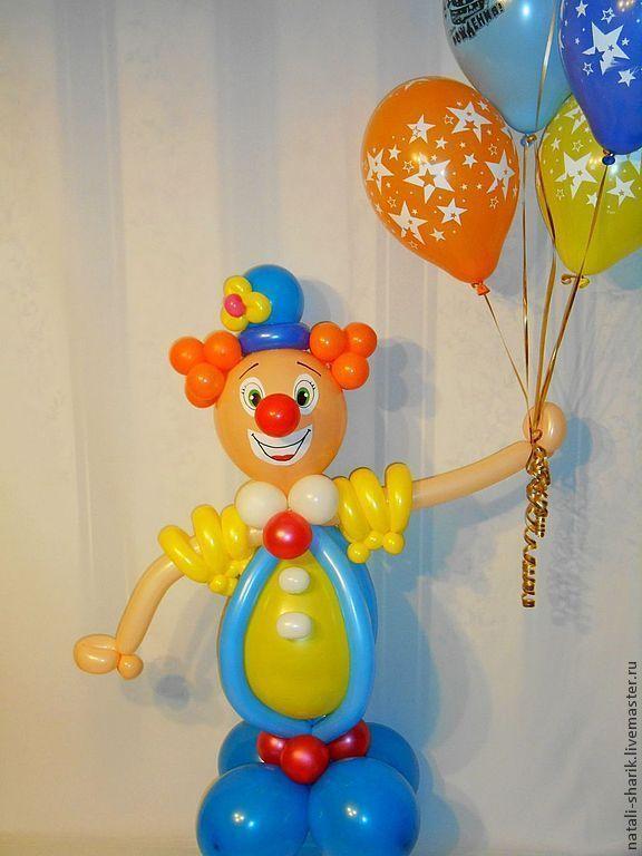 Клоун из воздушных шаров своими руками 276