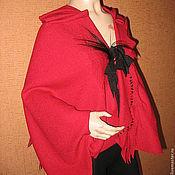 Одежда ручной работы. Ярмарка Мастеров - ручная работа Жилет из лодена.Жилет из шерсти.Красный жилет.. Handmade.