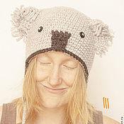 Аксессуары ручной работы. Ярмарка Мастеров - ручная работа шапка - коала Валентина. Handmade.