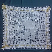 """Работы для детей, ручной работы. Ярмарка Мастеров - ручная работа Красивый плед """" Ангелочек"""" ручной работы. Handmade."""