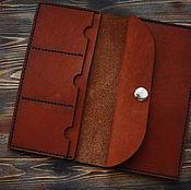 Сумки и аксессуары handmade. Livemaster - original item Leather purse with FREE SHIPPING!!!!. Handmade.