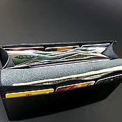 Сумки и аксессуары handmade. Livemaster - original item The purse is soft and large. Genuine leather.. Handmade.