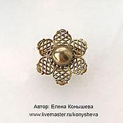 Украшения handmade. Livemaster - original item Brooch Baby bronze). Handmade.
