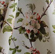 handmade. Livemaster - original item Fabric cotton matting Apple color 2 shades. Handmade.