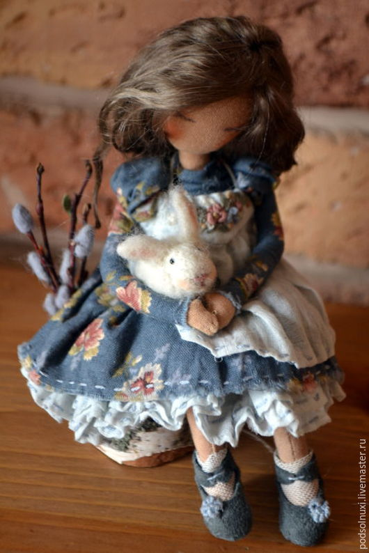 Коллекционные куклы ручной работы. Ярмарка Мастеров - ручная работа. Купить Весеннее чудо. Handmade. Комбинированный, ручная работа