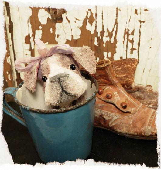 Мишки Тедди ручной работы. Ярмарка Мастеров - ручная работа. Купить ONLY KINGS dog 342. Handmade. Комбинированный