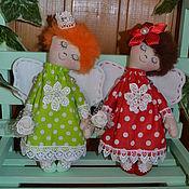 Куклы и игрушки ручной работы. Ярмарка Мастеров - ручная работа Мечтательные Ангелочки. Handmade.