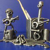 "Карандаши ручной работы. Ярмарка Мастеров - ручная работа Карандашница ""Музыканты"". Handmade."