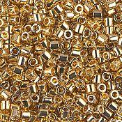 Бисер delica 8/0 31 24kt Gold Plated 5 (!) гр.