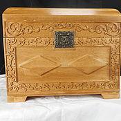 Для дома и интерьера handmade. Livemaster - original item Chest relief birch. Handmade.