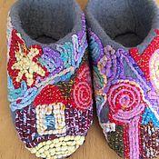 """Обувь ручной работы. Ярмарка Мастеров - ручная работа Тапочки """"Половичок"""". Handmade."""