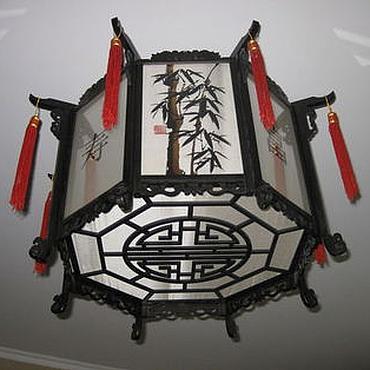 Для дома и интерьера ручной работы. Ярмарка Мастеров - ручная работа Китайский фонарь. Handmade.