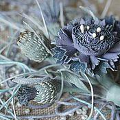 Украшения handmade. Livemaster - original item cornflowers ``Nordic spring``. Handmade.