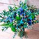 Букет невесты из живых цветов  Лесная нимфа