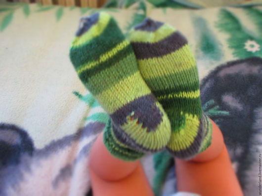 Носки, гольфы, гетры ручной работы. Ярмарка Мастеров - ручная работа. Купить Носки вязаные шерстяные детям Полосатики на 2-3 года. Handmade.